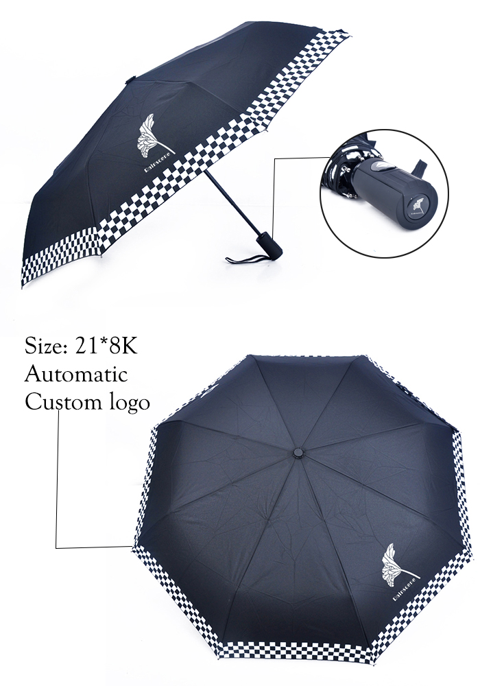 custom folding umbrella