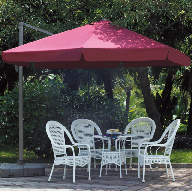 GU 04 Parasol Anti Uv Square Sun Garden Umbrella