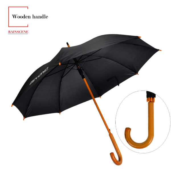 Wooden Handle Umbrella