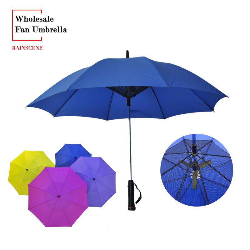 umbrella with fan