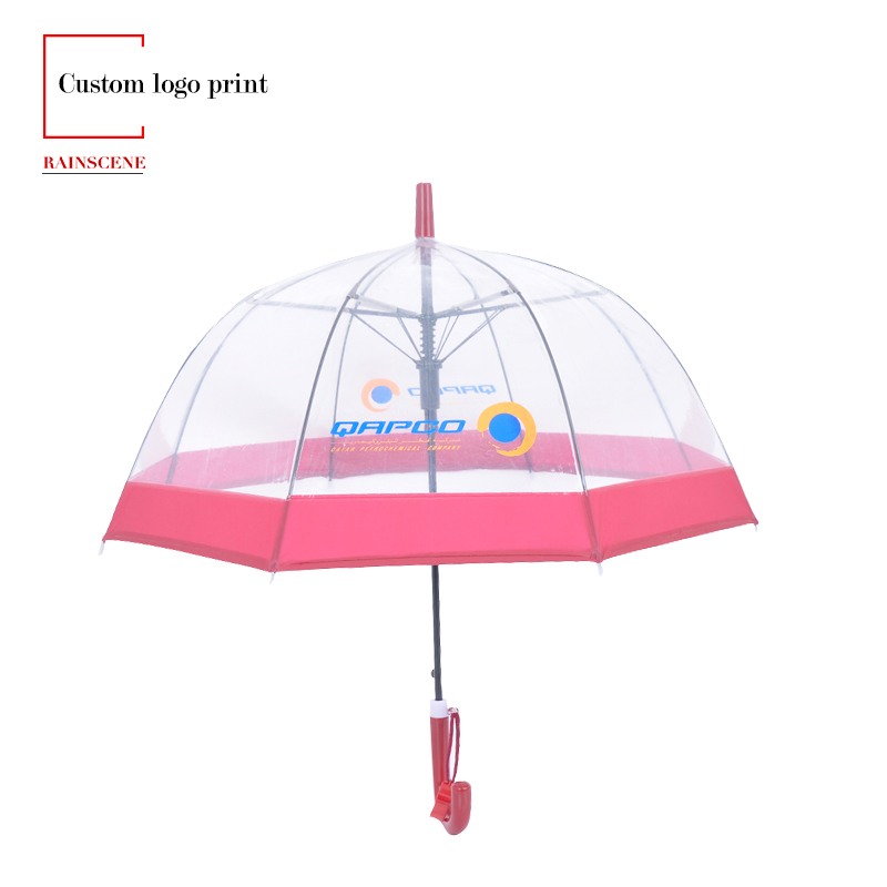 personalized clear umbrellas