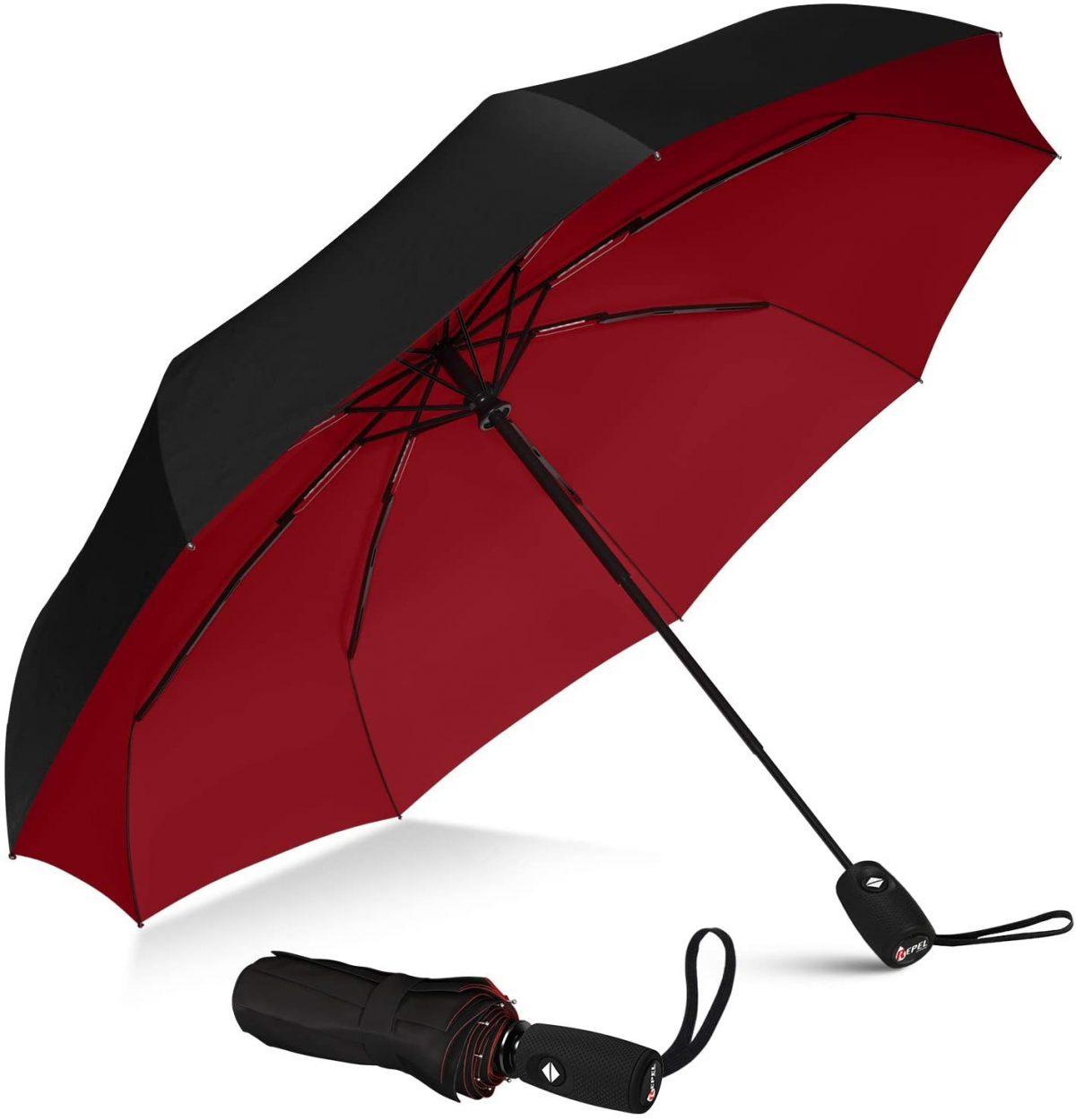 Strong windproof 3 fold umbrella