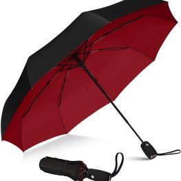 Strong windproof 3 fold umbrella